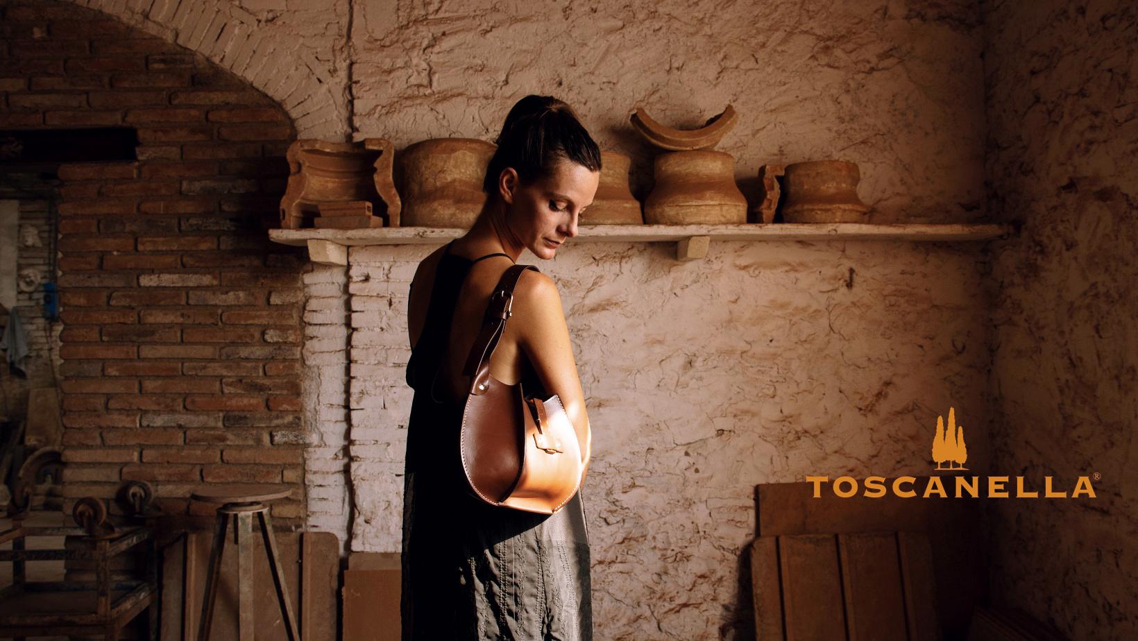 Toscanella Väskor från Italien