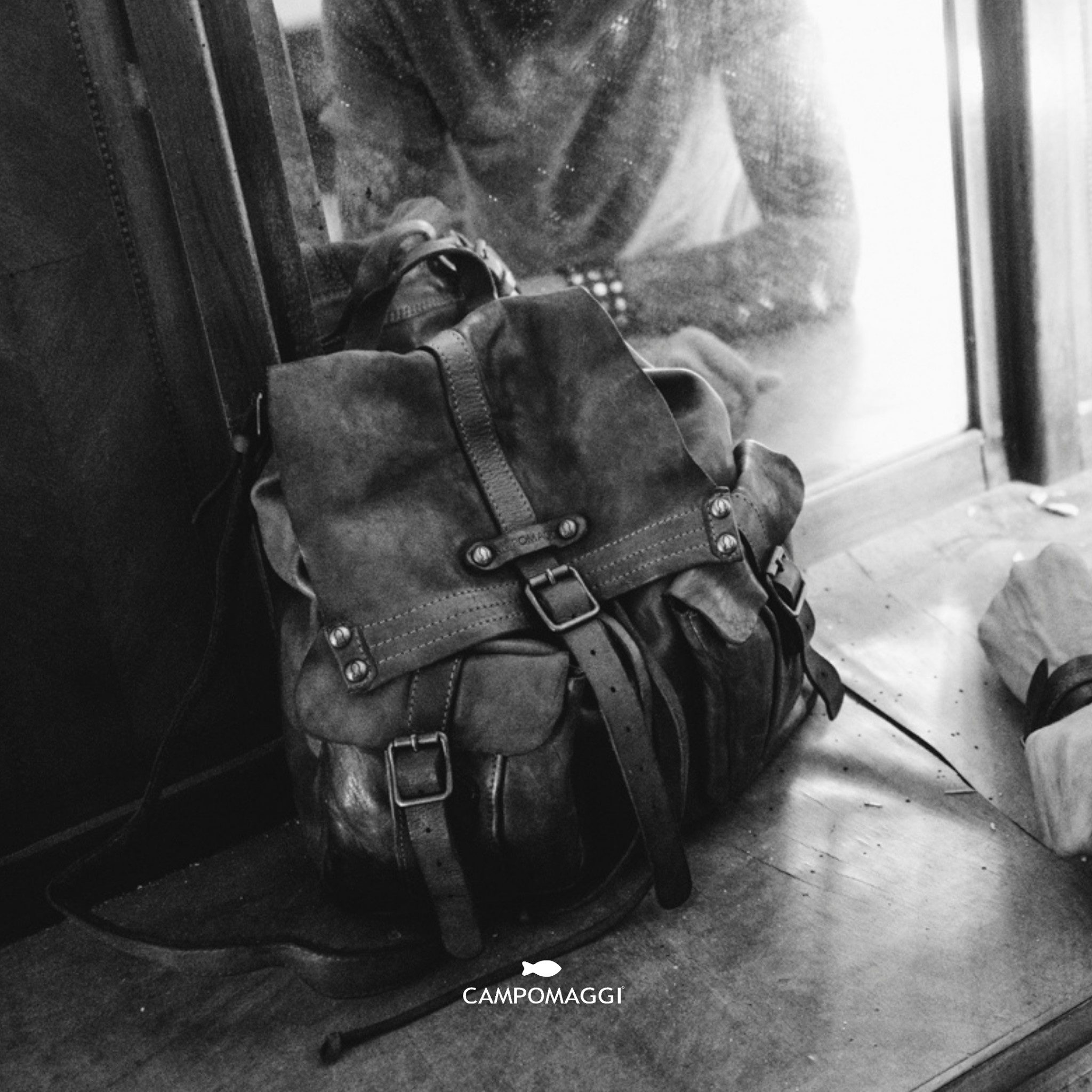 Campomaggi Backpack in Italian Leather